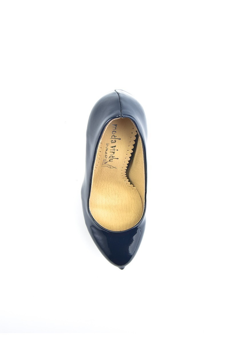 Moda Vindy Lacivert MVD-PLT-1095-LACI Platform Topuk Bayan Ayakkabı