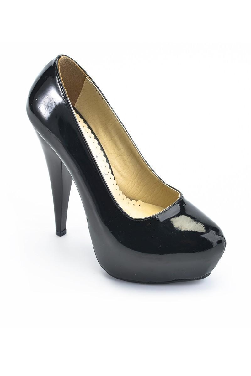 Moda Vindy Siyah MVD-PLT-1095 Platform Topuk Bayan Ayakkabı