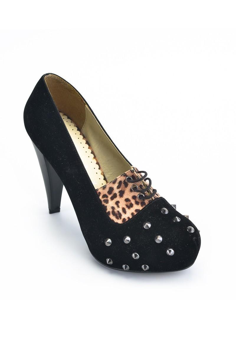 Moda Vindy Siyah MVD-PLT-1080 Plartform Topuk Bayan Ayakkabı