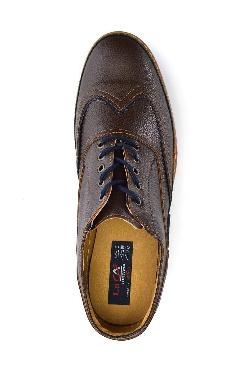 Luca Fontana Kahverengi LUC-1561 Erkek Ayakkabı