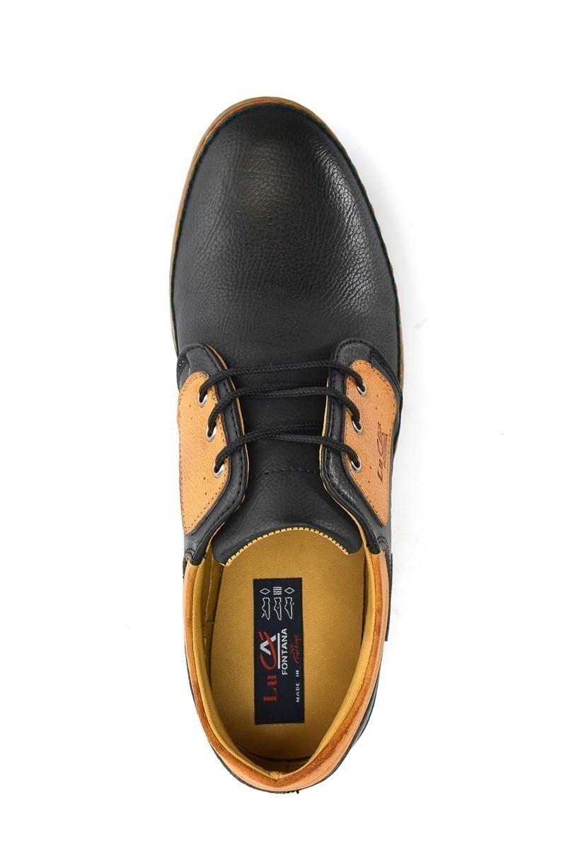 Luca Fontana Siyah-Taba LUC-1565 Erkek Ayakkabı