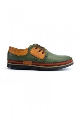Luca Fontana Yeşil-Taba LUC-1565 Erkek Ayakkabı