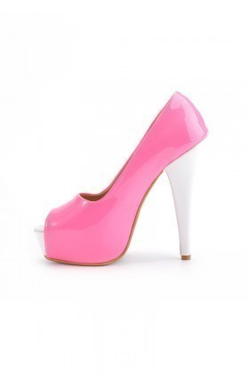 Moda Vindy Pembe MVD-PLT-1101 Plartform Topuk Bayan Ayakkabı