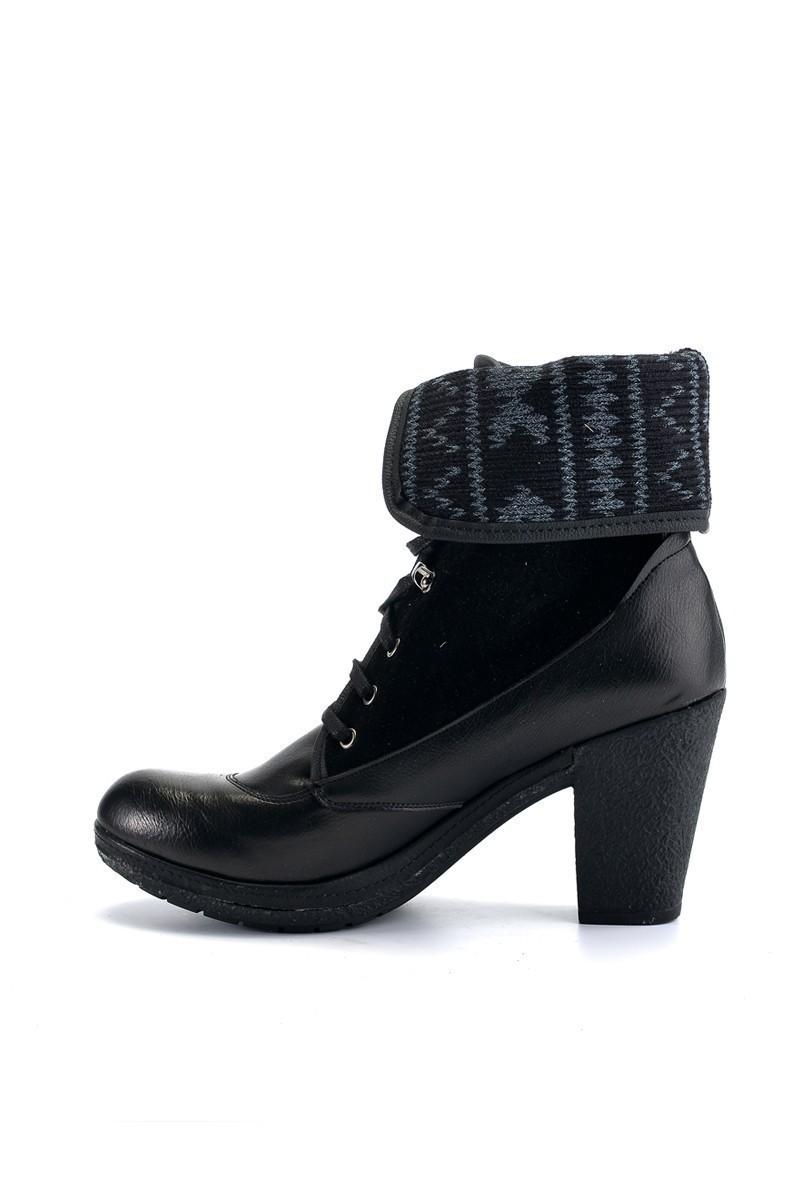 Divadonna Siyah DVNN-BOT-6050 Bayan Bot