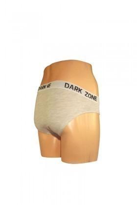 Dark Zone Gri Melanj DZ-039 Erkek Slip