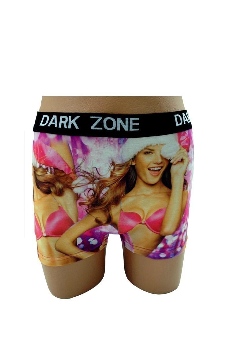 Dark Zone Siyah DZN-1040 3D Erkek Boxer