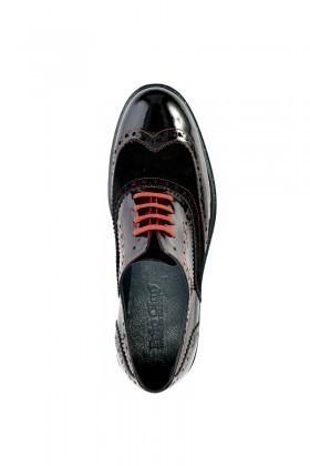 Polo Clup Siyah PC-6000 Hakiki Deri Erkek Ayakkabı