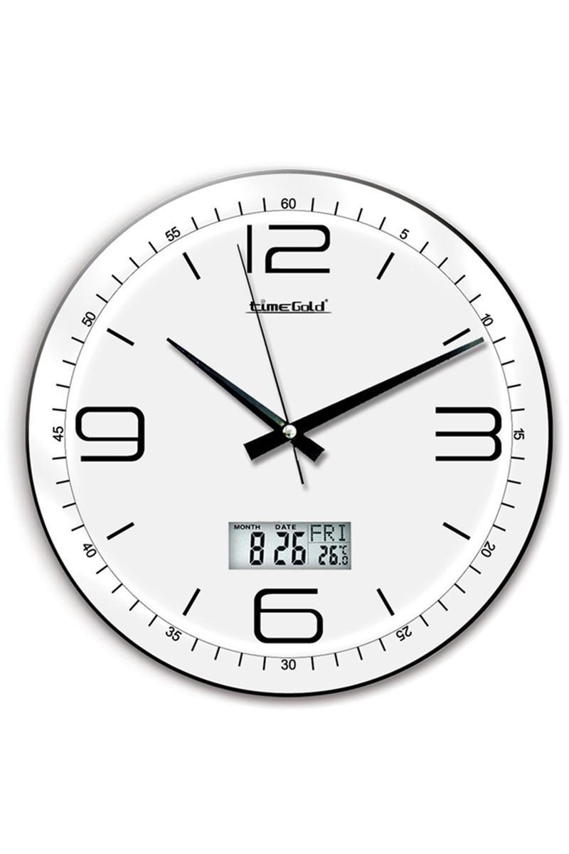 BS Beyaz BS-TG140TR Dijital Royal Duvar Saati