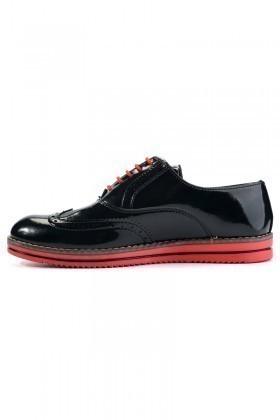 Deep Corner Siyah DC-228 Erkek Ayakkabı