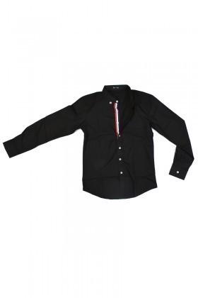 Be Top Siyah BT-1010 Erkek Gömlek