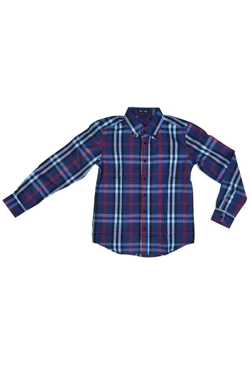 Be Top Mavi BT-1006 Erkek Gömlek
