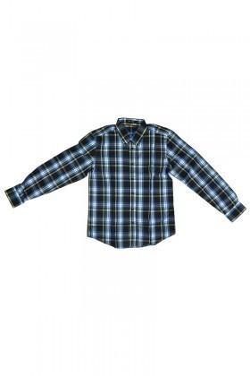 Be Top Lacivert BT-1005 Erkek Gömlek
