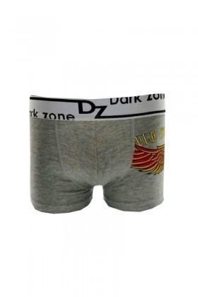 Dark Zone Gri DZ-DZN-2201 Erkek Boxer
