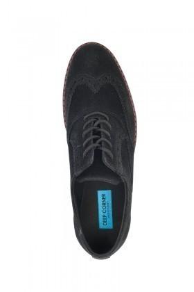 Deep Corner Siyah DC-228-SUET Erkek Ayakkabı