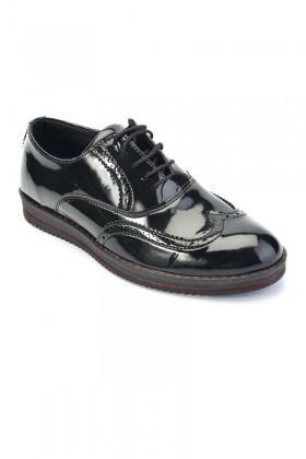 Deep Corner Siyah DC-228-RGN Erkek Ayakkabı