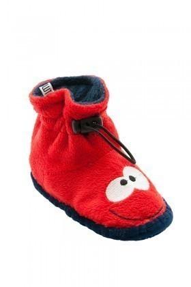 Twigy Kırmızı-Lacivert TWG-E0677-3 Tw Manco 14 Çocuk Ev Ayakkabısı