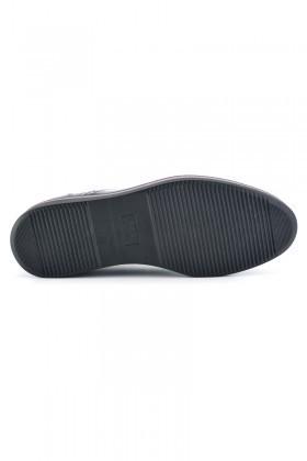 Wenetti Lacivert-Bordo WNT-5555 Hakiki Deri Erkek Ayakkabı