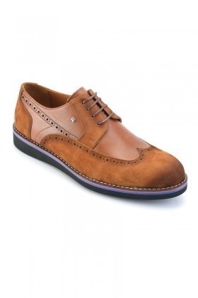 Wenetti Taba WNT-4444 Hakiki Deri Erkek Ayakkabı