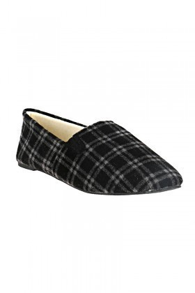 Twigy Siyah-Beyaz TWG-E0527-2 Tw Franco Erkek Ev Ayakkabısı
