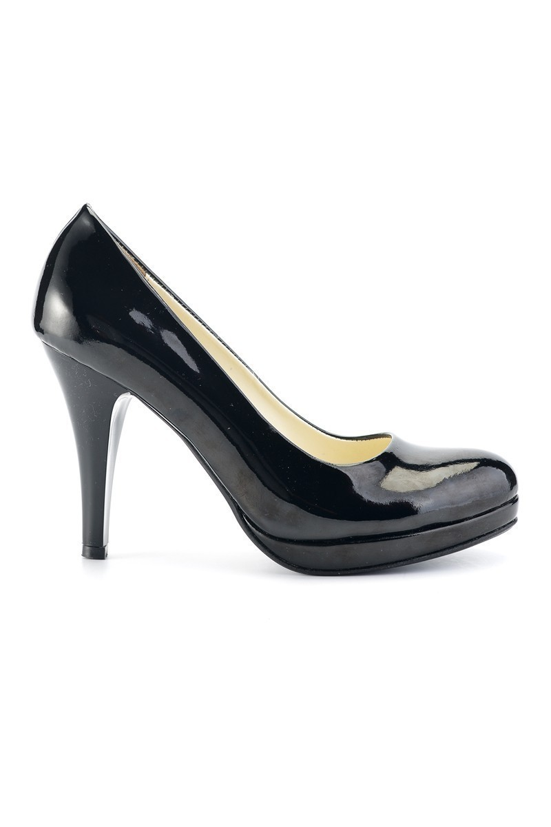 Moda Vindy Siyah MVD-PLT-1081 Plartform Topuk Bayan Ayakkabı
