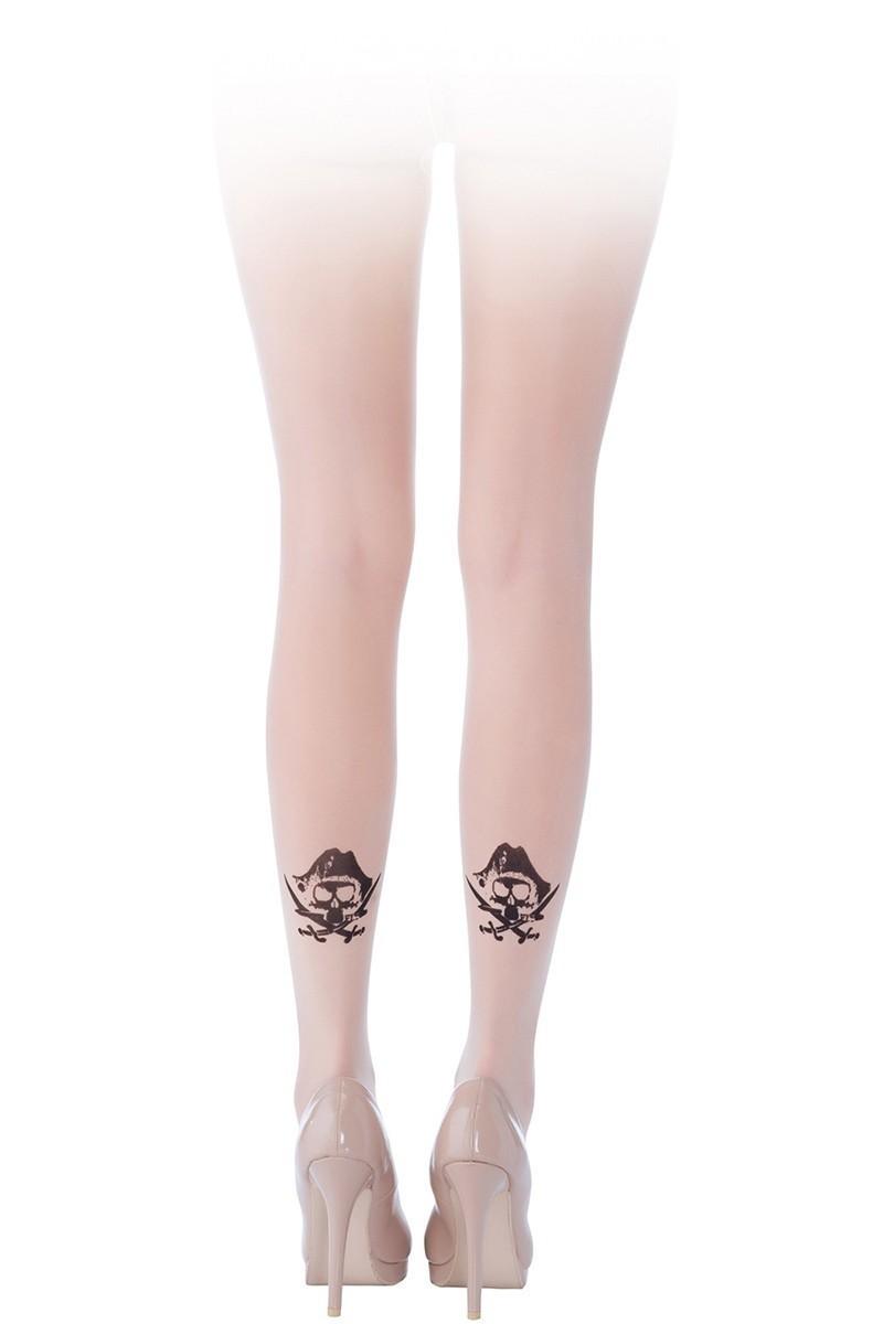Penti Ten Rengi PT-015 Can Bonomo - Özel Tasarım Külotlu Çorap