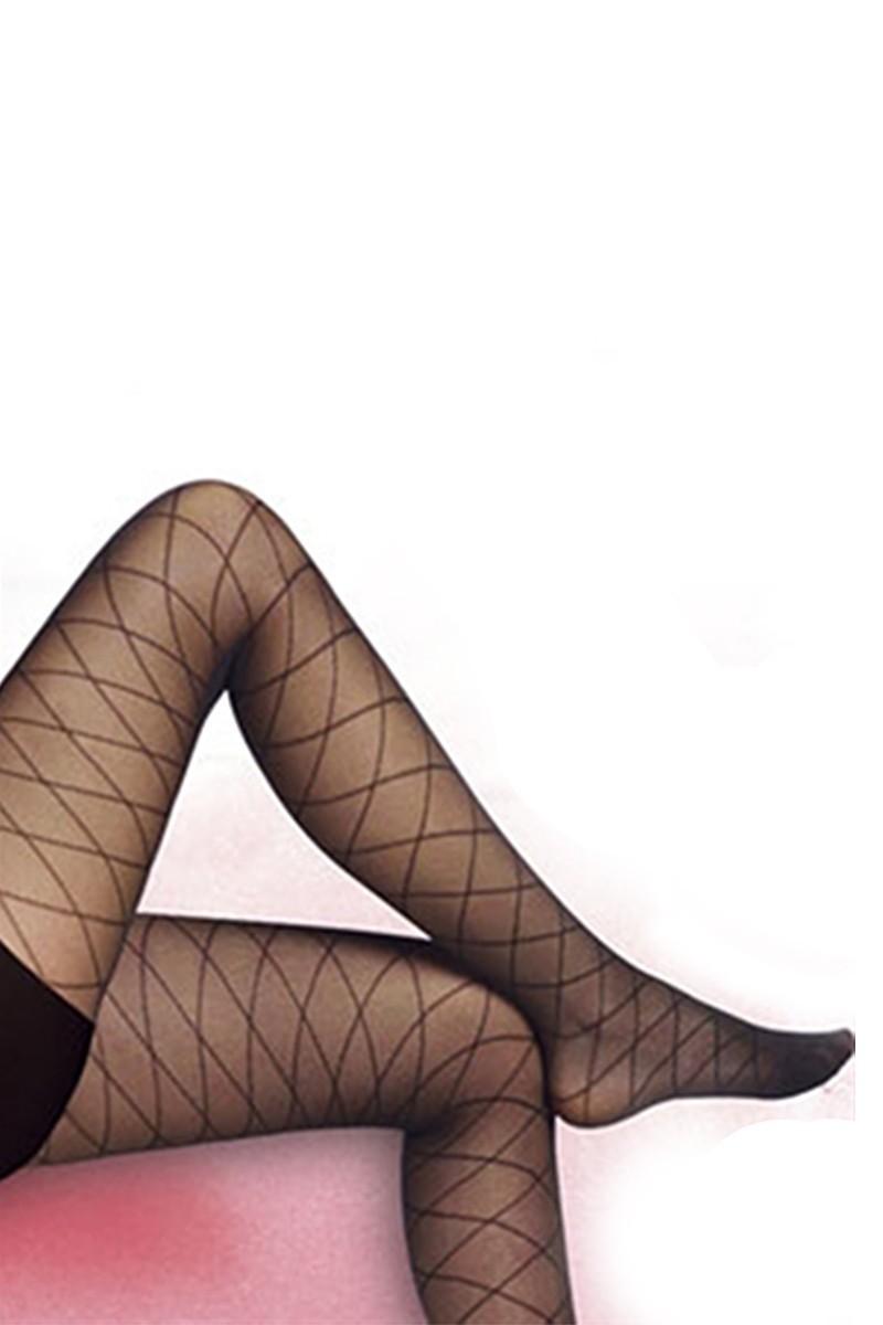Penti Siyah PT-20DEN Baklava Külotlu Çorap