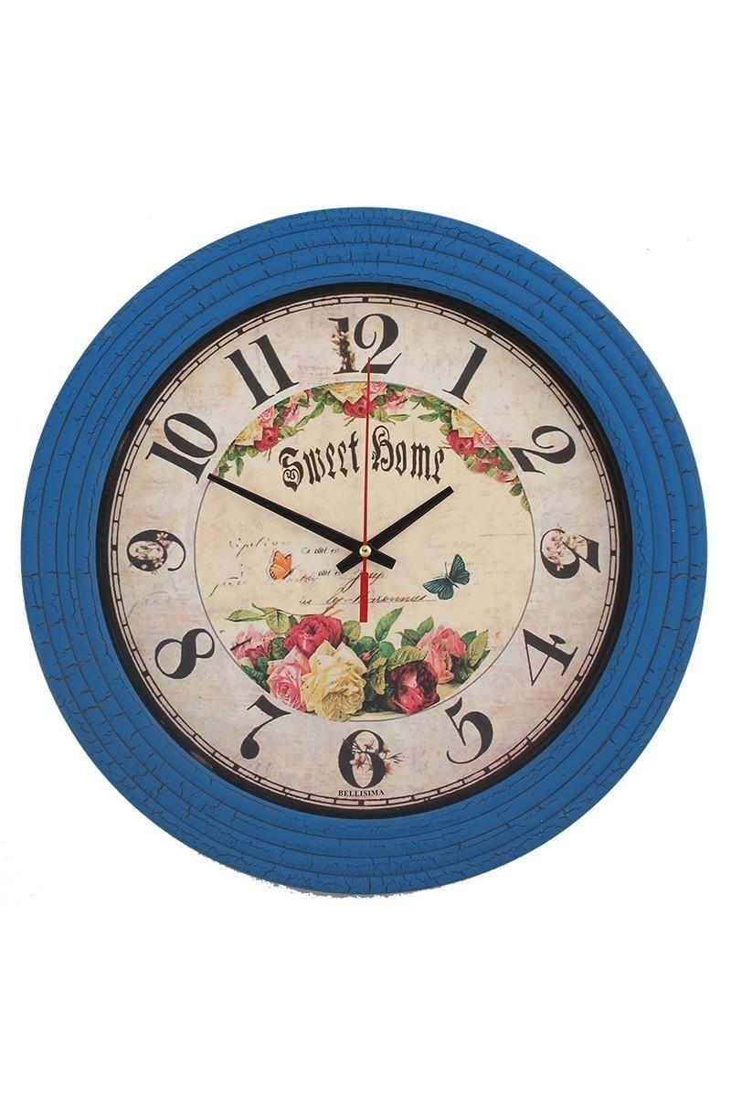 Tempo Mavi BL-0333 Duvar Saati