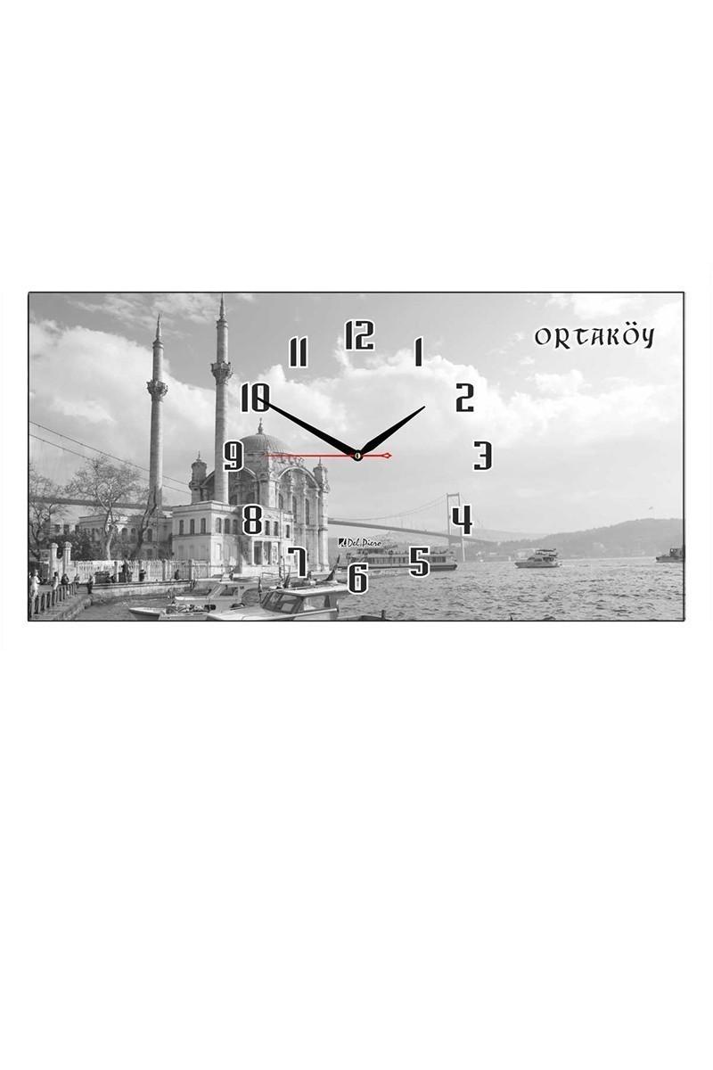 Tempo Gri DCAM-011 Ortaköy Duvar Saati