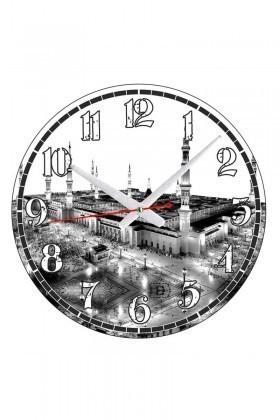 Tempo Beyaz-Siyah YCAM-005 Duvar Saati