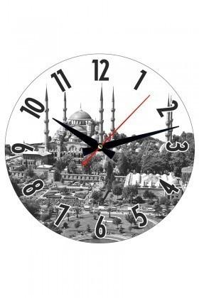 Tempo Karışık Renkli YC-001 Duvar Saati