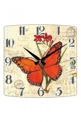 Tempo Karışık Renkli KMDF-016 Duvar Saati
