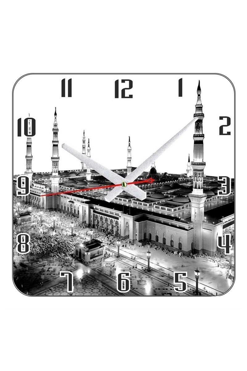 Tempo Beyaz KCAM-008 Duvar Saati