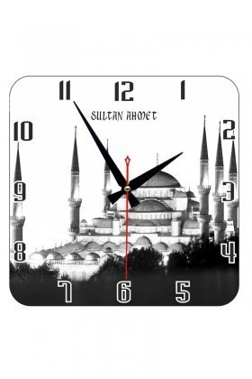 Tempo Beyaz KCAM-002 Sultan Ahmet Duvar Saati