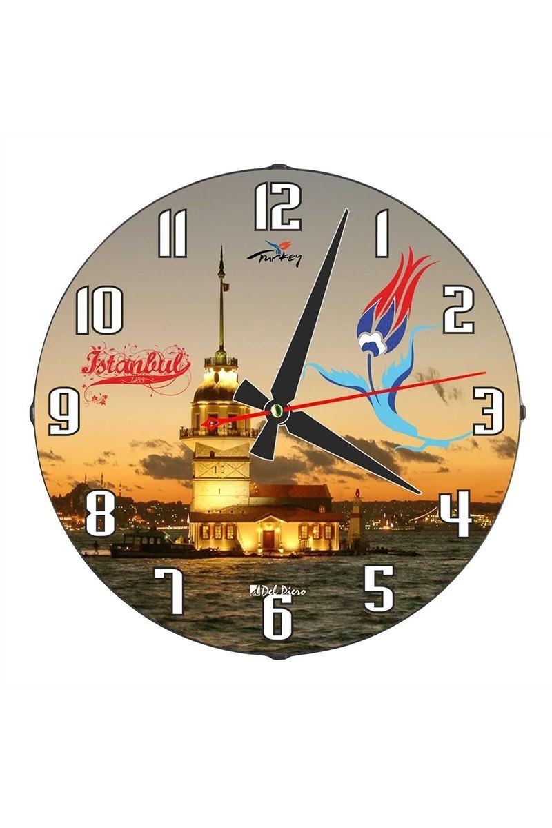 Tempo Karışık Renkli DP-3004-029 Duvar Saati