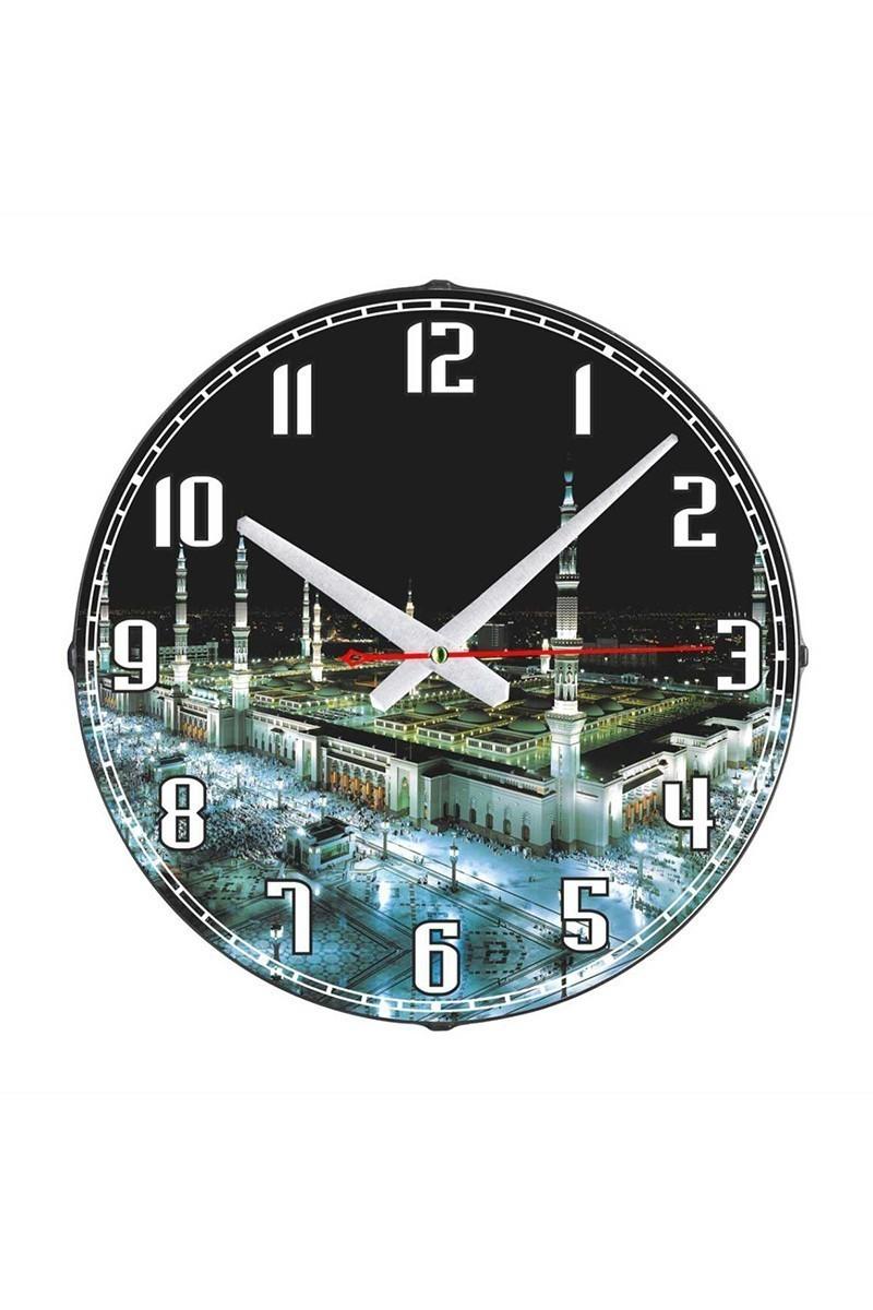 Tempo Siyah DP-3004-024 Duvar Saati