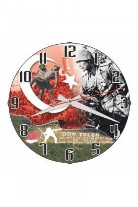 Tempo Karışık Renkli DP-3004-016 Duvar Saati