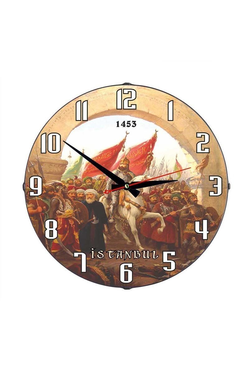 Tempo Karışık Renkli DP-3004-014 Duvar Saati