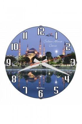 Tempo Mavi DP-3004-002 Sultan Ahmet Camii Duvar Saati