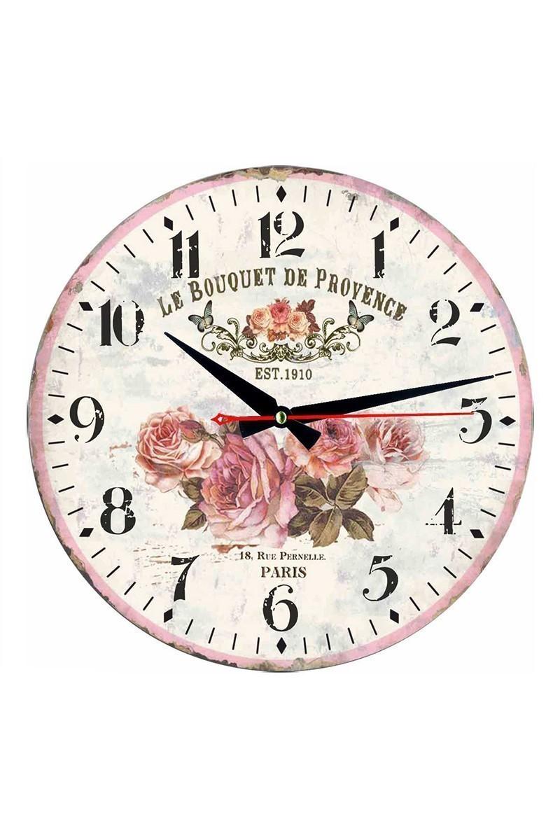 Tempo Beyaz DP-MDF-001 Duvar Saati