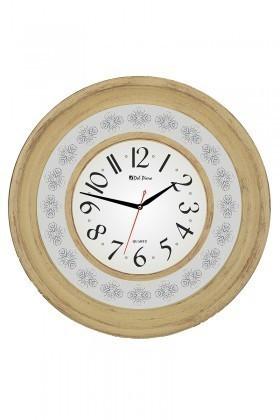 Tempo Bej DP-8002-4 Ahşap Görünümlü Duvar Saati