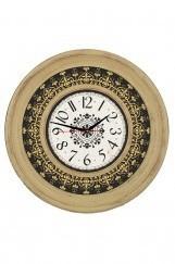 Ahşap Görünümlü Duvar Saati
