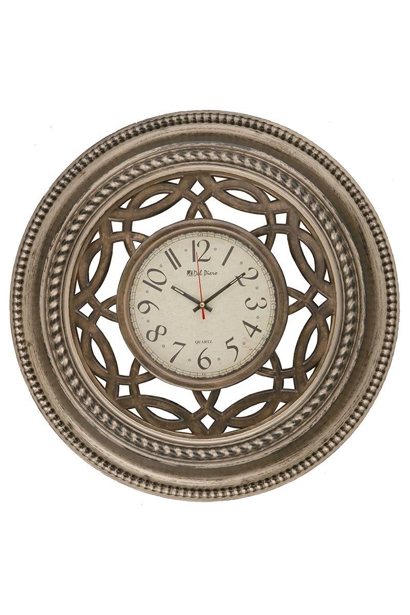 Tempo Kahverengi DP-8001-2 Ahşap Görünümlü Duvar Saati