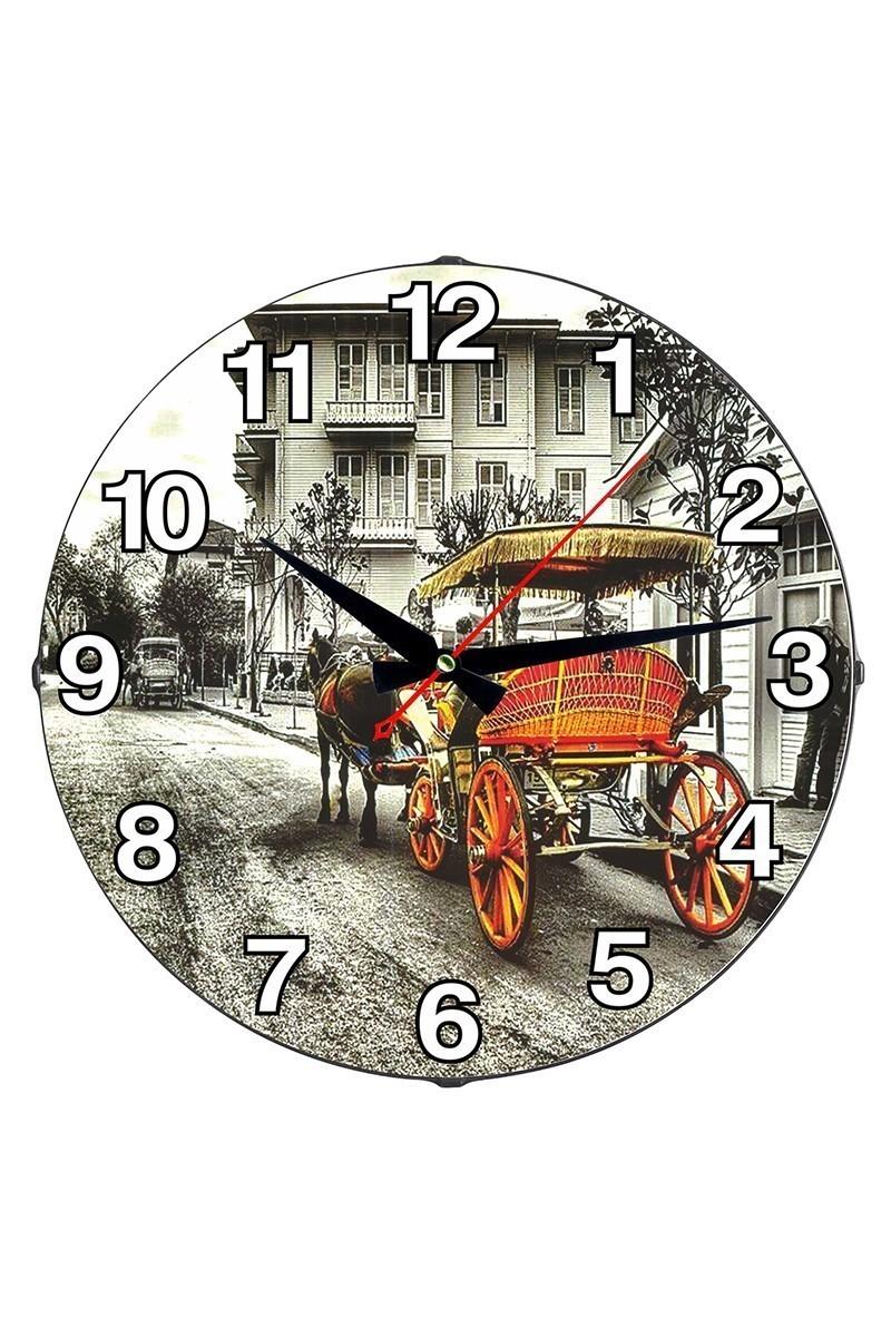 Tempo Karışık Renkli DP-3004-055 Duvar Saati