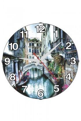 Tempo Karışık Renkli DP-3004-054 Duvar Saati