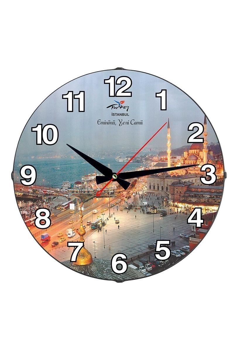 Tempo Karışık Renkli DP-3004-050 Eminönü Duvar Saati