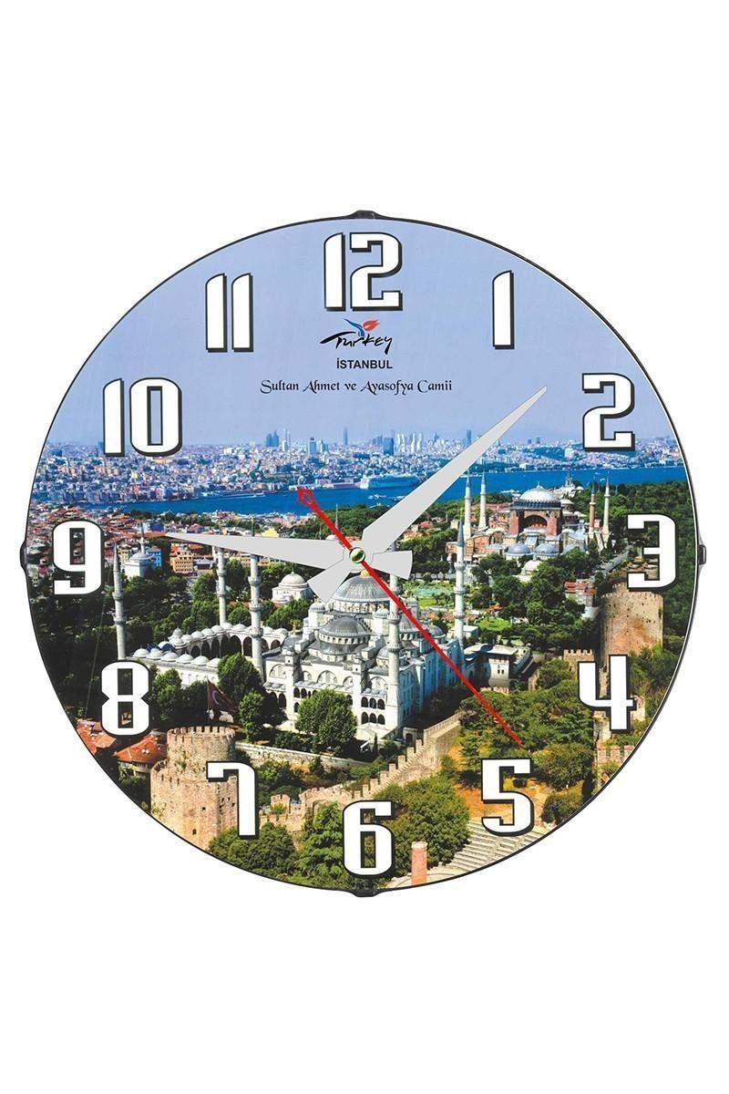 Tempo Mavi DP-3004-048 Camii Duvar Saati