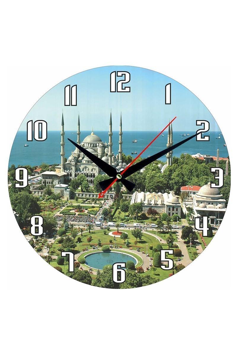 Tempo Karışık Renkli DP-3004-043 Duvar Saati