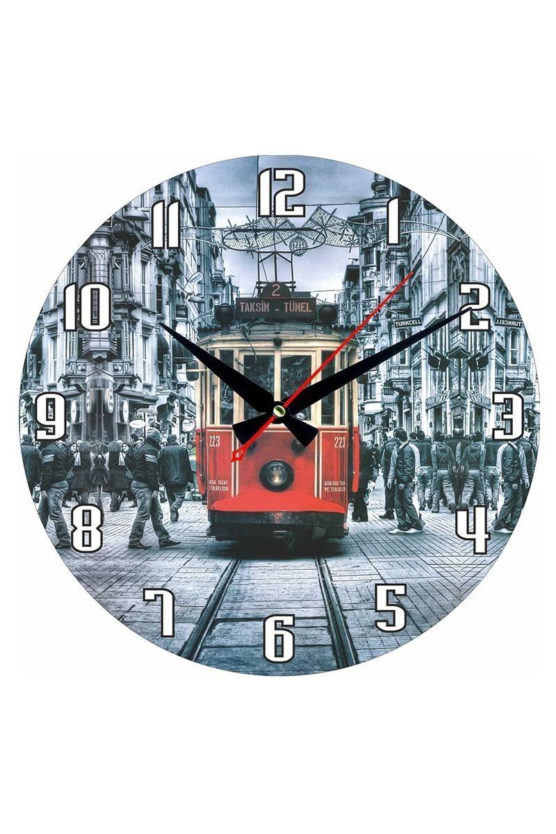 Tempo Karışık Renkli DP-3004-041 Duvar Saati