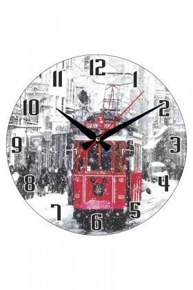 Tempo Karışık Renkli DP-3004-040 Duvar Saati