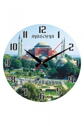 Tempo Karışık Renkli DP-3004-038 Duvar Saati